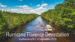 Hurricane Florence Devastation - Eastern North Carolina