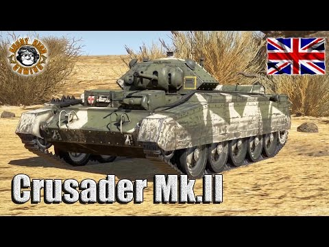 War Thunder: The Cruiser Mk.VI, Crusader II, Light Tank