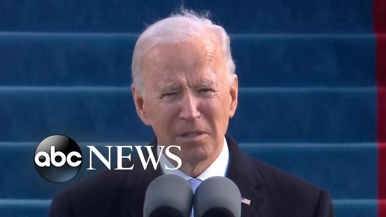 President Joe Biden delivers his inaugural address | FULL SPEECH