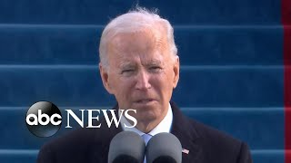 President Joe Biden delivers his inaugural address | ABC News