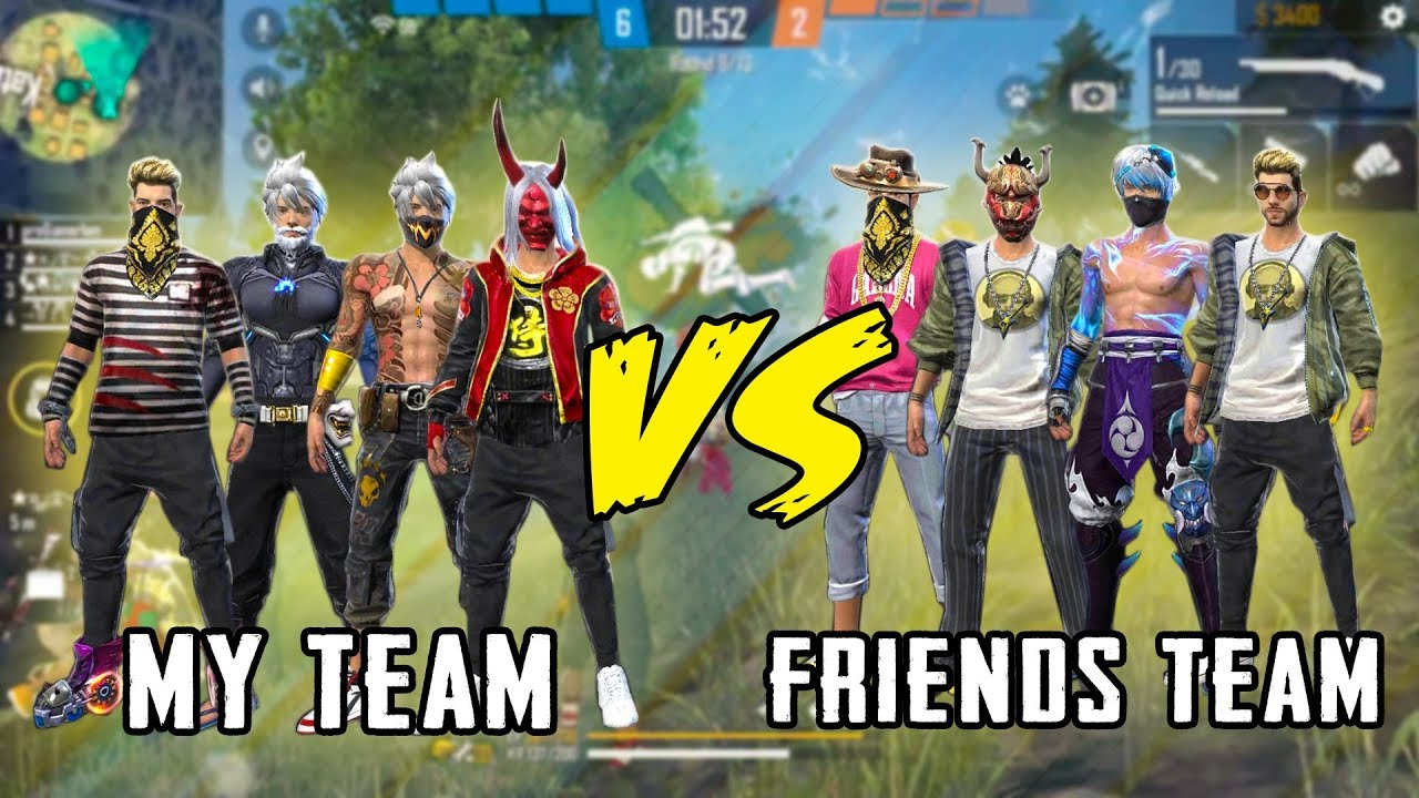CLASH SQUAD CUSTOM BEST VS BEST MATCH GAMEPLAY – GARENA FREE FIRE