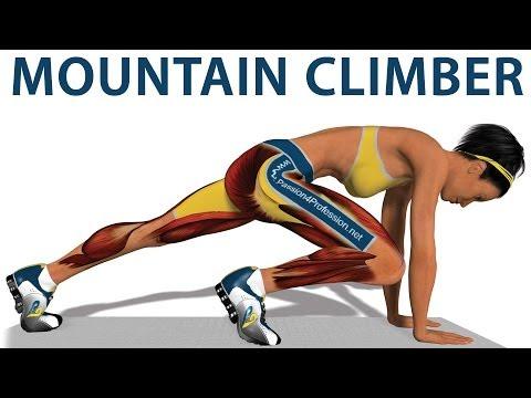 Exercícios cardíacos: Mountain Climber