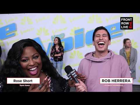 Rose Short | Team Gwen EXCLUSIVE Interview | The Voice Season 17 Top 8