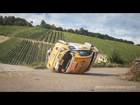 WRC Rally Deutschland 2013 - Crashes, Close Calls & Historic Cars [HD]
