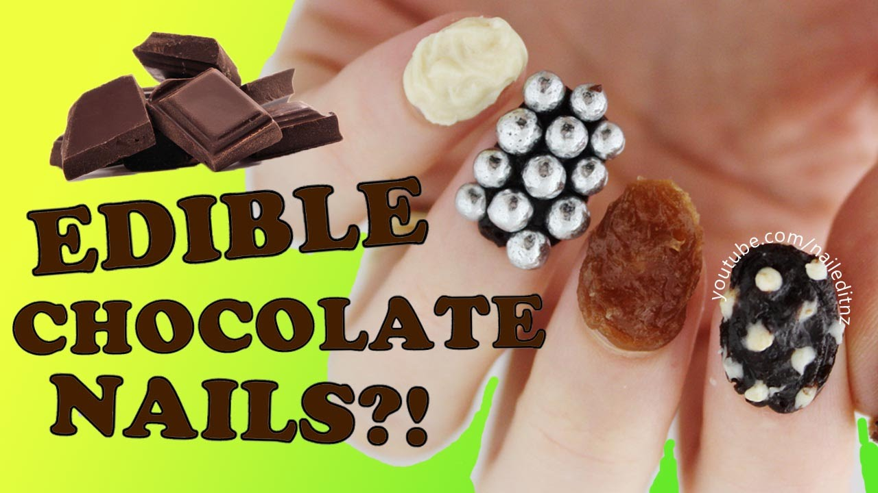 Edible Chocolate Nail Art Nailed It Nz Youtube