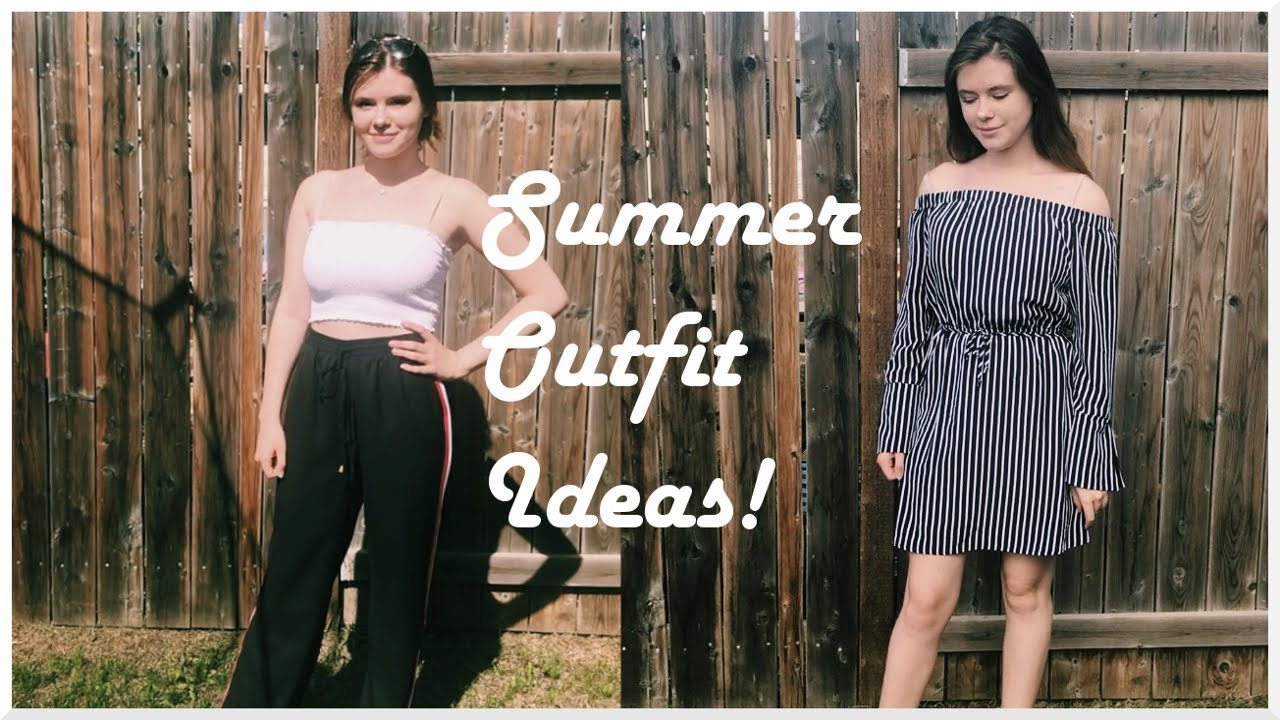 5 OUTFIT IDEAS FOR SUMMER / LOOKBOOK 5