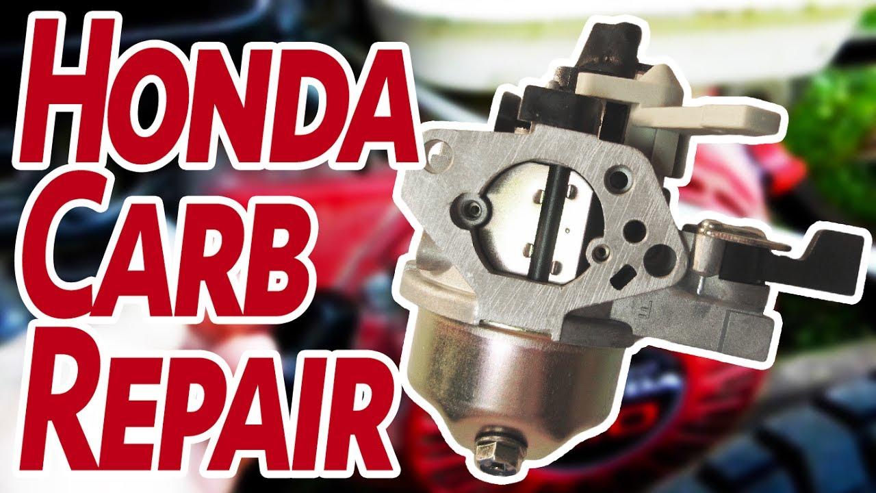 How To Rebuild A Honda Gx200 Gx390 Carburetor Youtube Eb5000x Diagram