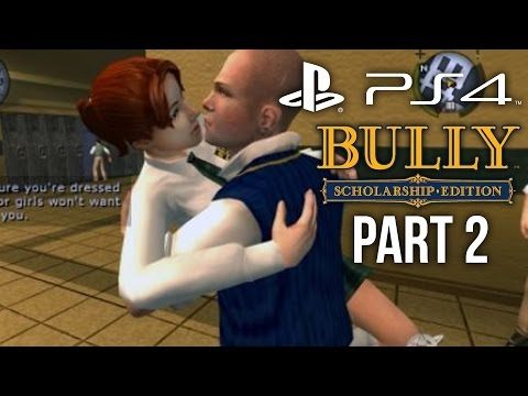 Bully PS4 Gameplay Walkthrough Part 2 - FIRST KISS (Canis Canem Edit)