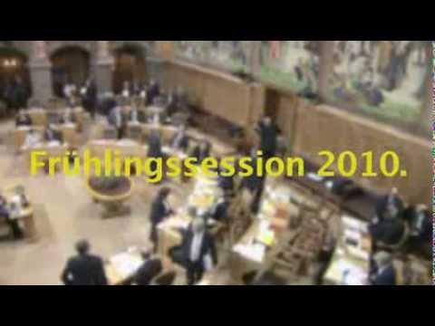 BDP Videonews zu den Sondersessionen 2010 und Wahlen in den Kantonen