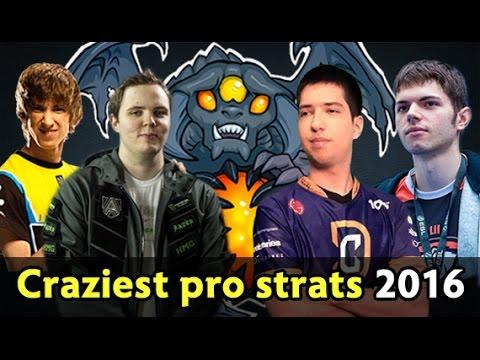 Craziest pro strats of 2016 — Dota 2