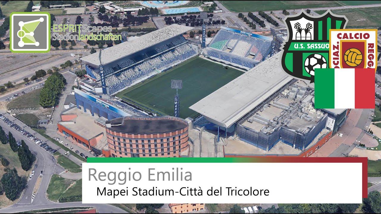 Mapei Stadium-Città del Tricolore | Reggio Audace FC | U. S. Sassuolo  Calcio | 2019 | Google Earth - YouTube