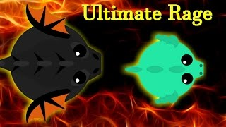 Mope.io Ultimate rage || Chased by the black dragon