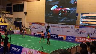 Yoo Seon Seong/KIm Ha Na(KOR) vs Danny CHRISNANTA/TAN Wei Han| ASIA MIXED TEAM CHAMPIONSHIPS 2017