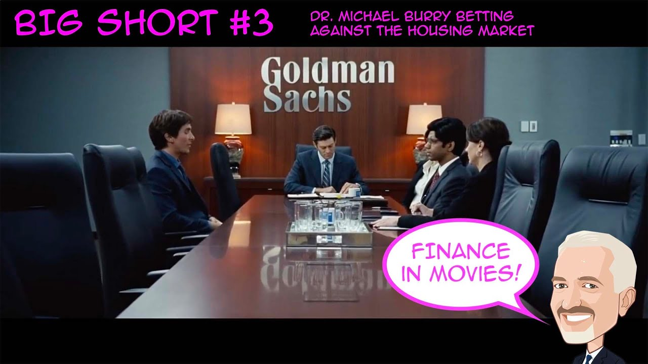 The Big Short 3 - Dr. Michael Burry Betting Against the Housing Market