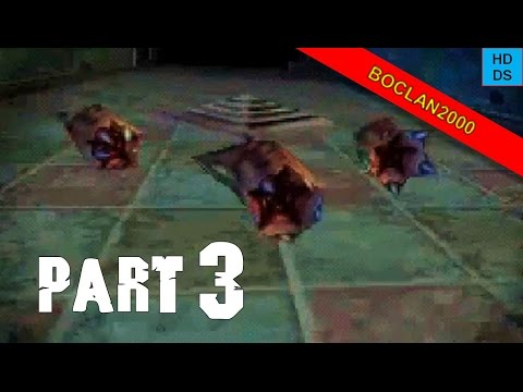 Dementium The Ward Walkthrough Part 3 - Slug Monsters (NDS)