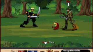 DragonFable Gameplay Footage
