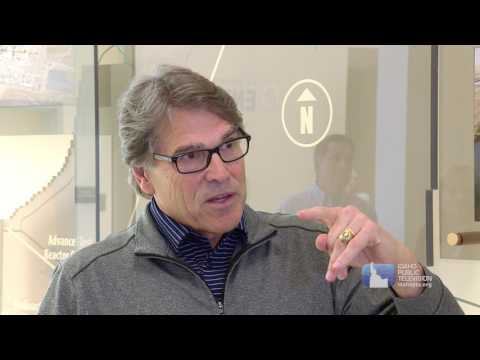 US Energy Secretary Rick Perry at Idaho National Laboratory