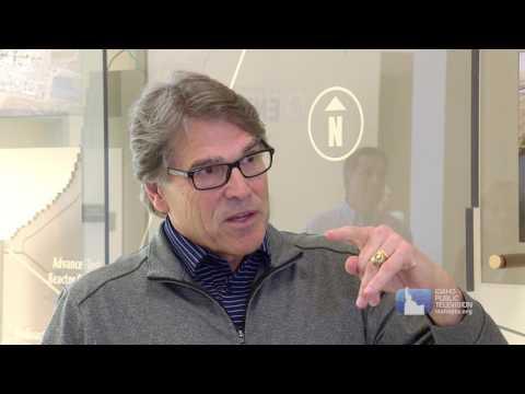 US Energy Secretary Rick Perry at Idaho National Laboratory