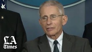 Dr. Fauci clarifies President Trump's tweets about coronavirus drugs