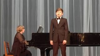 "Моцарт.Ария Керубино из оперы ""Свадьба Фигаро"". Романов Николай"