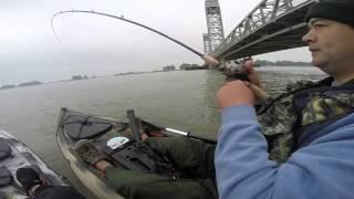 Rio vista kayak fishing