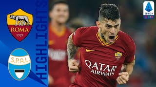 Roma 3-1 SPAL | Roma Recover from Penalty to Overtake SPAL | Serie A TIM