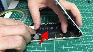 Problème batterie iPhone 6s