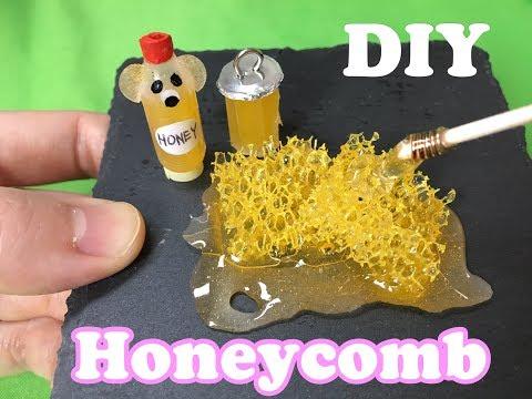 How to Make Miniature Honey comb-UV Resin