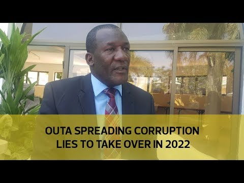 Outa spreading corruption lies to take over in 2022
