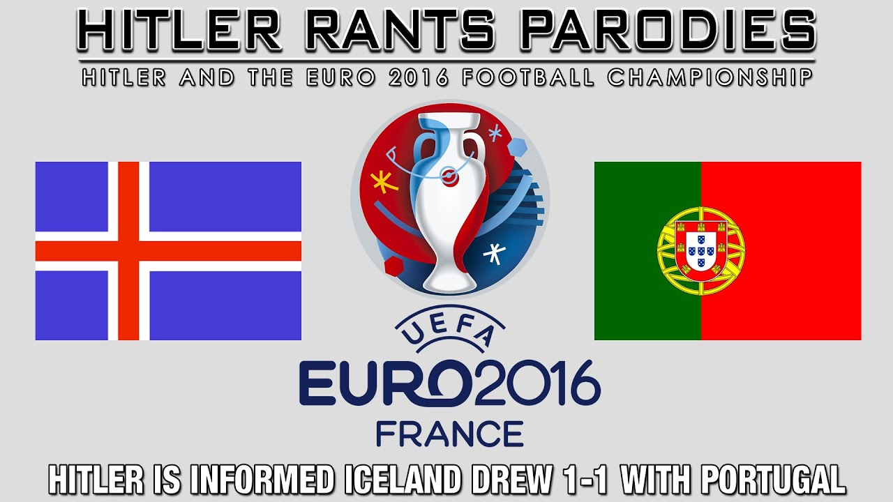 Hitler is informed Iceland drew 1-1 with Portugal