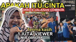 Download SUARA TERBAIK NIA DIRGHA DI LAGU APAKAH ITU CINTA _ IPANK | VERSI KOPLO TERBARU DANGDUT JALANAN