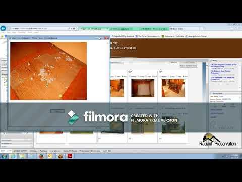 Radiant Preservation Live Processing Video 001