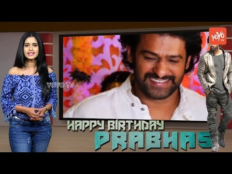 Prabhas Birthday Special Video | Saaho | Rebel Star | Darling Prabhas Wiki | Movies List | YOYO TV
