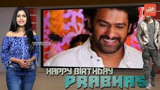 Prabhas Birthday Special Video | Saaho | Rebel Star | Darling Prabhas Wiki | Movies List | YOYO TV