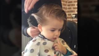 Mete'nin Saç Kesimi   İmren Gürsoy   Baby Haircut