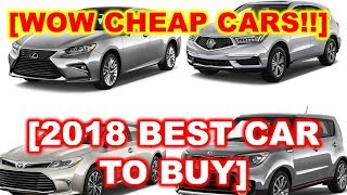2018 Best Cars for The Money, U S  News Best Cars for the Money awards come in