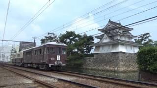 大正15年製ことでんレトロ電車 (築港側)120号-300号(琴平側) 2017年7月16日運転動画集