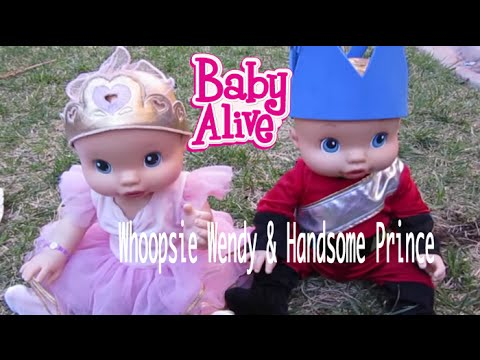 Baby Alive Whoopsie Doo Turns Frog Into Handsome Prince