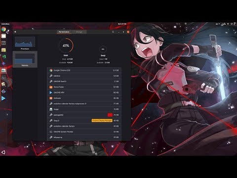 [Ubuntu 18.04 / GNOME 3.28] The New Usage App - A Tech Preview Really!