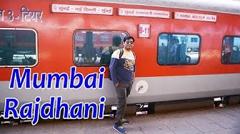 New Delhi TO Mumbai Central Train Journey || (12952) Mumbai Rajdhani Express
