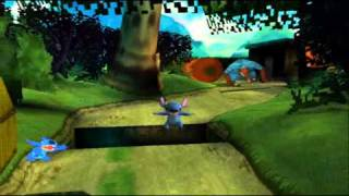 Lilo & Stitch PS1 Game Walkthrough Part 6 - Iniki Track - I