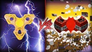 Minecraft: HELLO NEIGHBOR - FIDGET SPINNER ELETRICO VS SPINNER DE TNT [ WIIFEROIZ ]