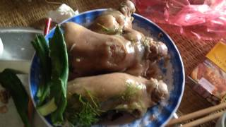 Thịt chuột Ninh Hiệp đây ạ.