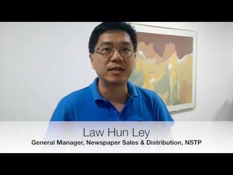 Law Hun Ley, News Straits Times Paper (Media Prima Berhad)