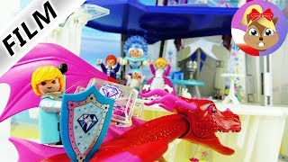 Playmobil Film PL | Złowrogi książę Martin rabuje z DIAMENTÓW księżną Hannę z Kryształowego Pałacu