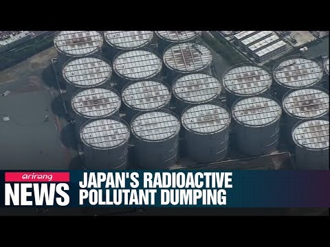 Environmentalists slam Japan's plan to release 1 mil. tons of radioactive waste into Pacific Ocean