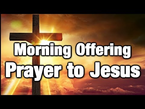 Prayer to Jesus - Offering to the Sacred Heart