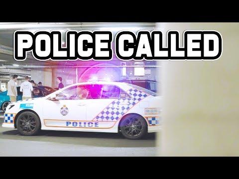 POLICE WERE CALLED! | Australian Tokyo Underground Car Meet