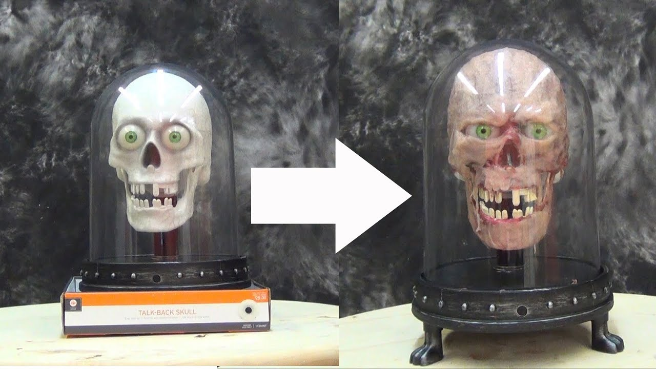 halloween tutorial gel 00 talking skull youtube - Talking Skull Halloween
