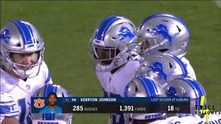 KERRYON JOHNSON | NFL PRESEASON 2018 HIGHLIGHTS | YARDS AFTER CONTACT | DETROIT LIONS